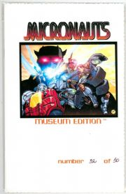 Micronauts Preview Museum Edition Wizard World East WWE 2002 Ltd 50 Devil's Due comic book